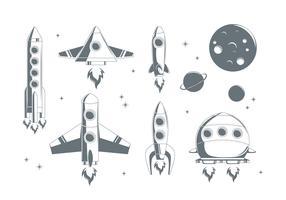 Free Starship Vector