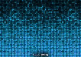 Tiled Background Vector Blue Tiles