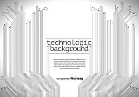 Technologic Background - Vector