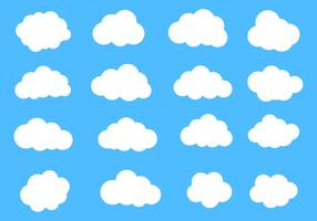 Free Vector Clouds Set