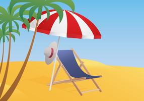 Deck Chair Illustration
