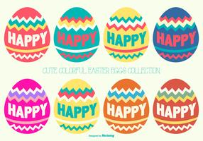 Cute Easter Eggs Collection