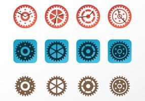 Clock Parts Vectors