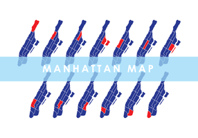 Manhattan Map Vector