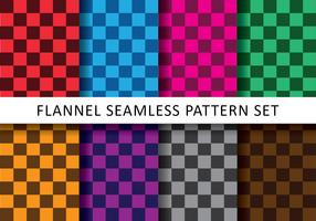 Colorful Checkered Flannel Vectors