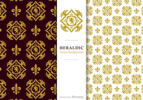 Free Vector Heraldic Background