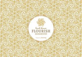 Free Ornate Flourish Vector Background
