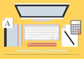 Free Vector Workplace Elements