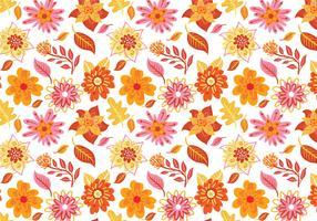 Free Flower Pattern Vectors