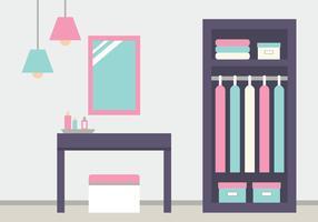 Dressing Room Background