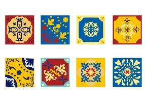 Free Portuguese Tile Azulejo Vector