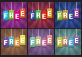 Free Labels Vectors