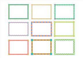 Landscape Border Funky Frames Free Vector