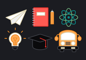 Free Education Elements Vector