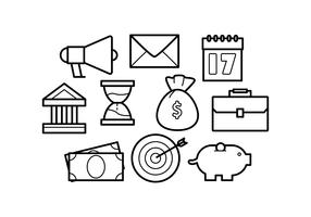 Free Line Icons Business Vector
