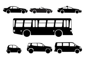 Silhouette City Cars