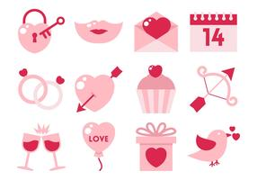 Free Flat Valentine Element Vector