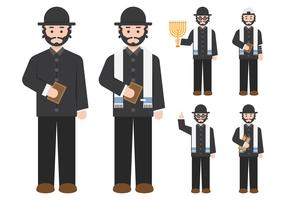 Rabbi Figure Character