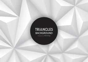 Grey Gradient Triangles Vector Background