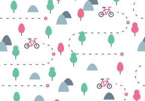 Bike Trail Pattern