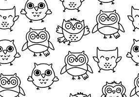 Hand Drawn Buho Pattern