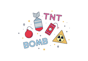 Free Explosives Vector