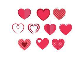 Free Hearts Vector