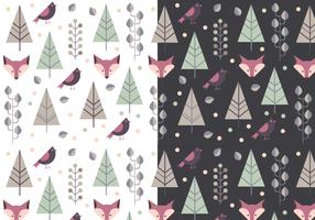 Free Animal Winter Pattern