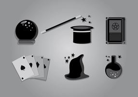 Magic stick vector pack
