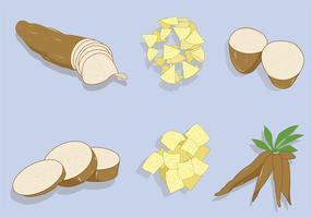 Cassava Vector Pack