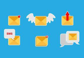 SMS Icon Vector Set