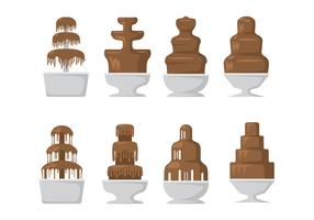 Chocolate Fountain Icons