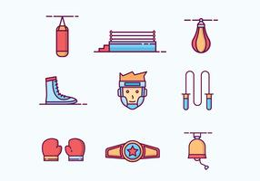 Free Outlined Boxing Icons