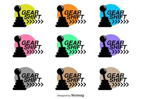 Gear Shift Vector Icons
