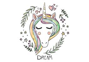Free Unicorn Illustration