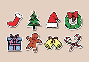 Christmas Sticker Icons