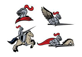 Free Lancers Mascot Vector
