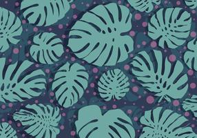 Polka Dotted Background Daun Vector