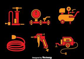 Air Pump And Compressor Vectors