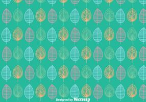 Leaves Ornament Pattern Background
