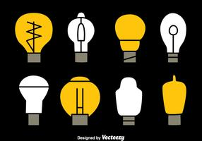 Light Bulb Collection Vectors