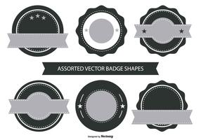 Retro Badge Shape Collection