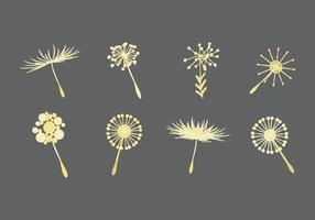 Free Dandelion Icons Vector