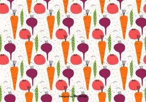Doodle Vegetables Pattern