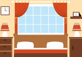 Free Vector Bedroom