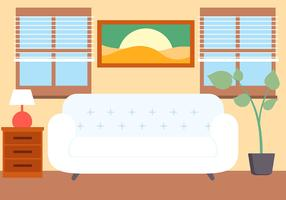 Free Vector Lounge Illustration