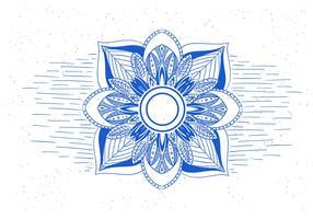 Free Vector Flower Mandala