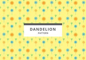Free Dandelion Pattern Vector