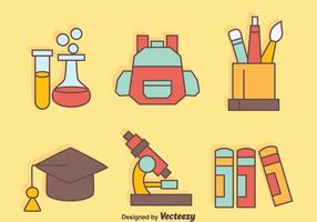 Nice School Equipment Vectors