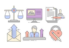 Free Business Icons in Minimal Style